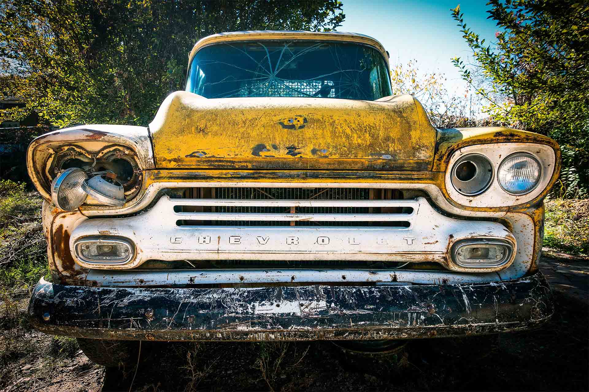 Inspect a Used Car We buy junk cars, Old Junk Classic truck, Free Online Price Quote